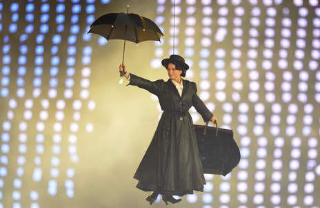 Mary Poppins at the Olympic Games opening ceremony