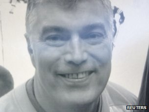Martin Bodrog, 54, of Annandale, Virginia, is seen in an undated family handout