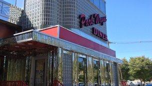 Park Wayne diner exterior