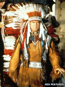 Pierce Brosnan as Grey Owl in 1999 film