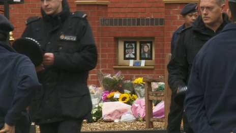 PCs Fiona Bone and Nicola Hughes memorial