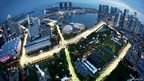 Marina Bay City Circuit in Singapore