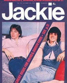Jackie magazine was incredibly popular in the early 1970s
