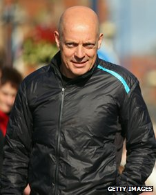 Sir Dave Brailsford at the start of stage four, Tour of Britain