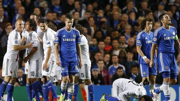 Chelsea v Basel