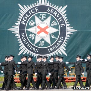 PSNI graduation ceremony