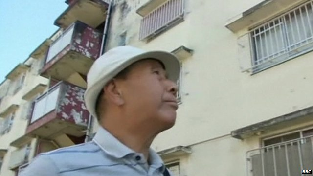 Elderly man in Japan