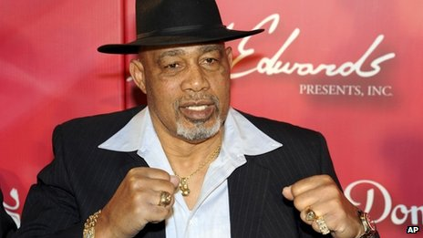 February 2012 photo of Ken Norton on the red carpet at a gala dinner celebrating his old foe Muhammad Ali's 70th birthday