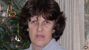 A photo provided by her husband, Douglass Gaarde, shows Kathy Gaarde 26 December 2006