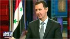 VIDEO: Assad's vow on Syria weapons
