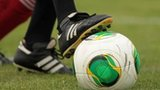File photo: foot on a football