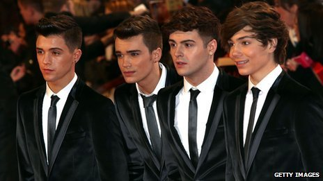 Boy band Union J