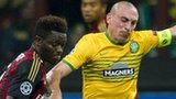 Sulley Muntari and Scott Brown