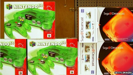 Nintendo 64 and Sega Dreamcast