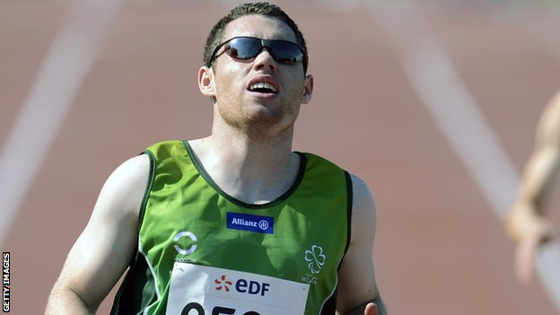 Jason Smyth won two gold medals at the IPC Athletics World Championships in Lyon