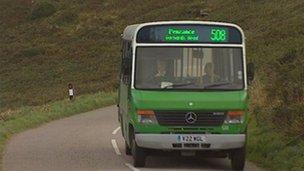 Penzance bus