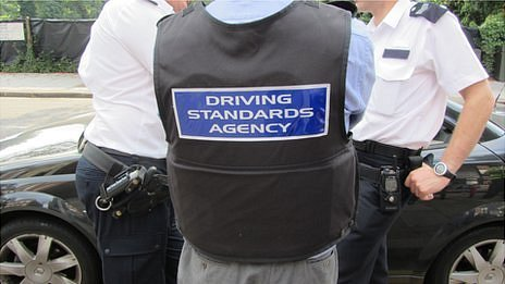 Driving Standards Agency officer