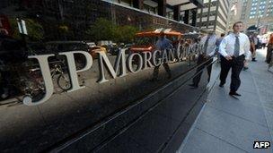 JP Morgan front
