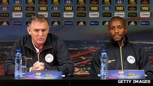 Owen Coyle and Emmerson Boyce