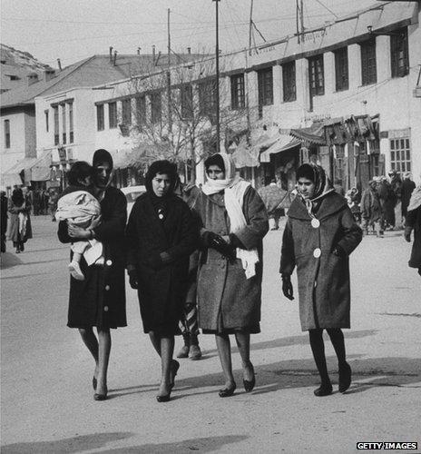 Women in Kabul, 1960s