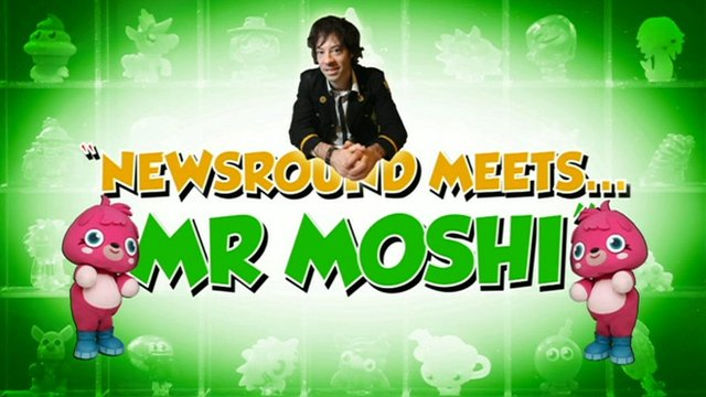 Newsround meets Mr Moshi