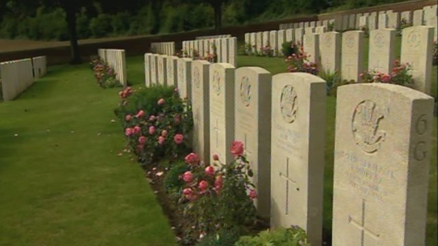 Welsh graves at the Somme