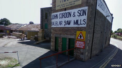 John Gordon and Sons sawmill