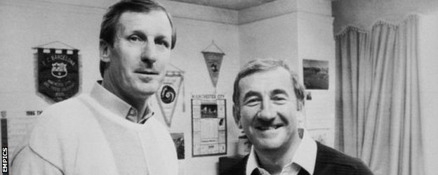 Billy McNeill and Jimmy Frizzell