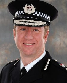 Deputy chief constable Simon Bailey