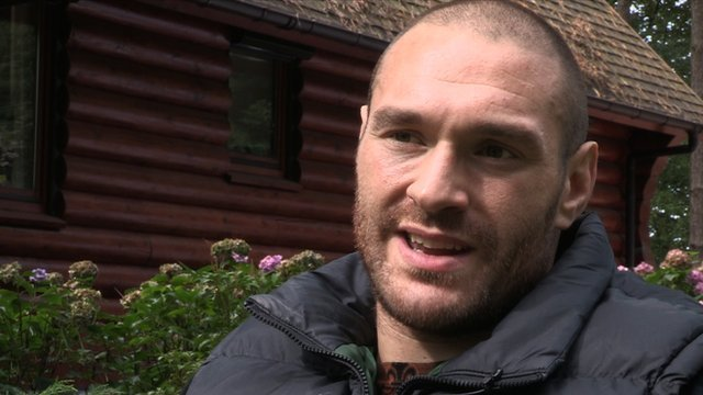 Heavyweight Tyson Fury