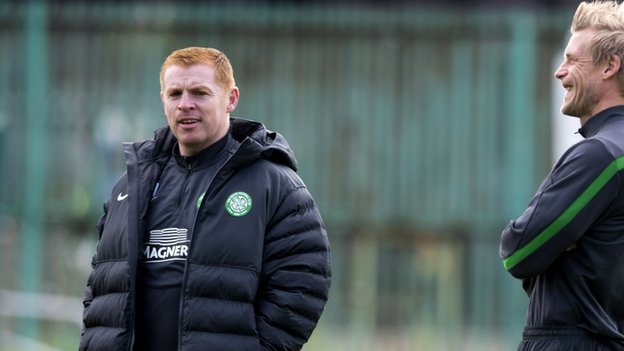 Celtic boss Neil Lennon