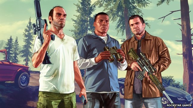 An image from Grand Theft Auto 5