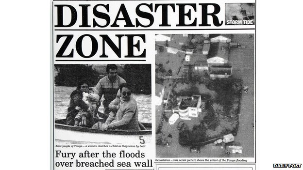 Town Floods - Daily Post