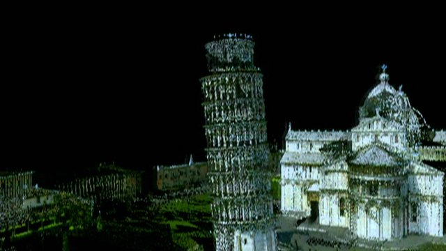3D scan of the Leaning Tower of Pisa