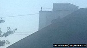 The man on top of Welton House
