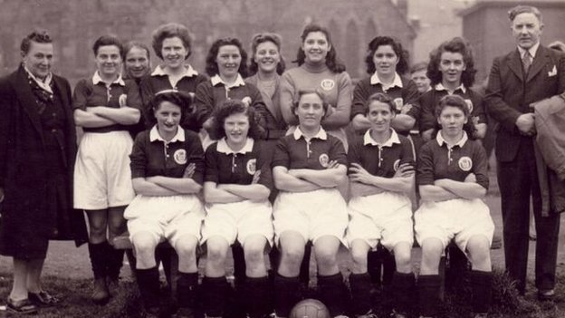 Scotland Ladies Football team