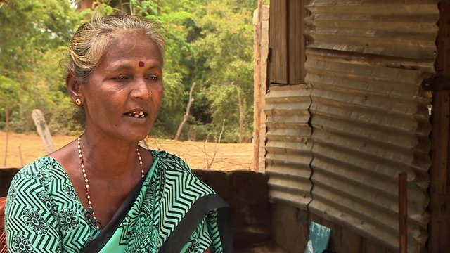 Kandaswami Ponnammah, relative of disappeared family