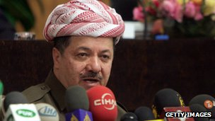 Iraqi Kurdistan's Massoud Barzani