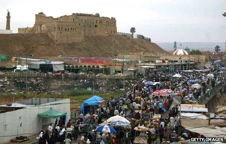 Citadel in Kirkuk