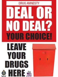 Durham Police drug amnesty poster