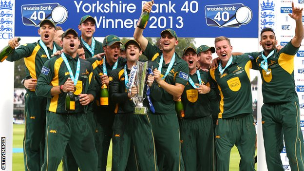 Nottinghamshire lift YB40 Trophy