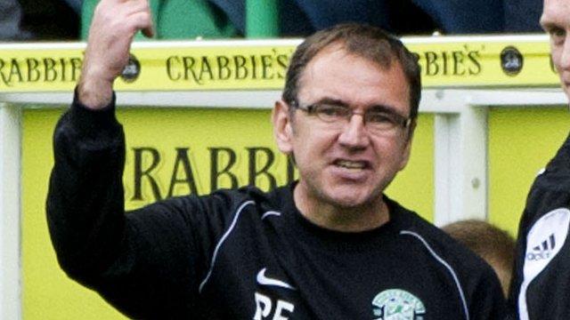 Hibernian boss Pat Fenlon