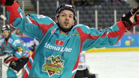 UK: Belfast Giants Defeat Braehead In Challenge Cup Thriller