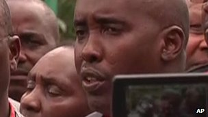 Cabinet Secretary for the Interior Joe Lenku