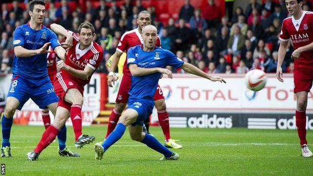 Highlights - Aberdeen 1-0 Inverness CT