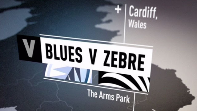 Blues v Zebre