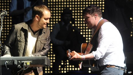 Ben Lovett and Marcus Mumford