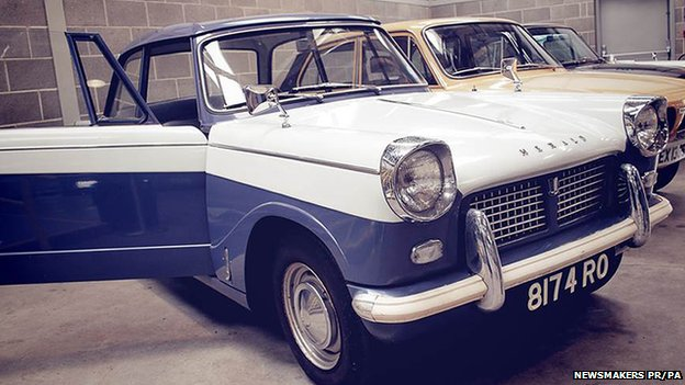 triumph herald covered 20 miles in 52 years bbc news. Black Bedroom Furniture Sets. Home Design Ideas