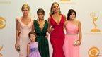 Julie Bowen, Aubrey Anderson-Emmons, Sarah Hyland, Sophia Vergara and Ariel Winter