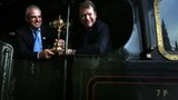 Ryder Cup captains Paul McGinley and Tom Watson